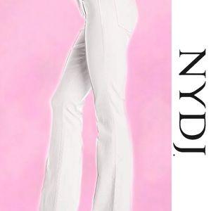 NYDJ Jeans - NYDJ White Farrah Flare Jeans 8